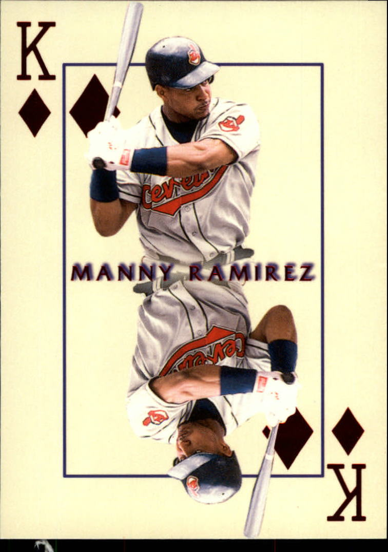 2000 Pacific Invincible Kings of the Diamond #11 Manny Ramirez