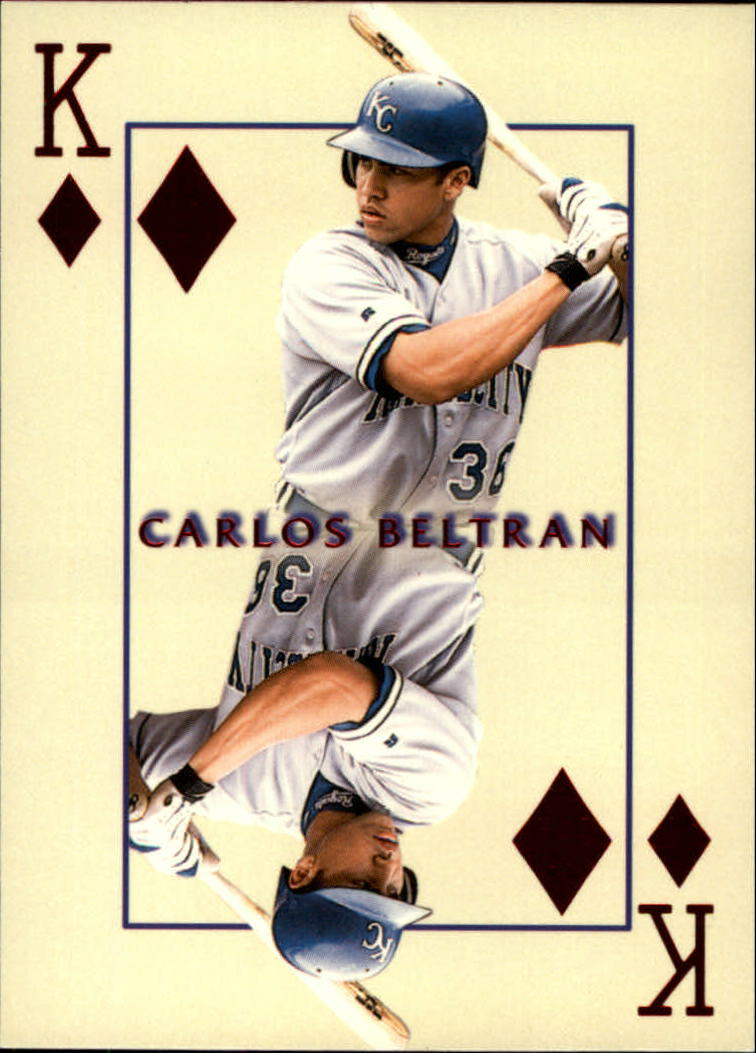 2000 Pacific Invincible Kings of the Diamond #16 Carlos Beltran