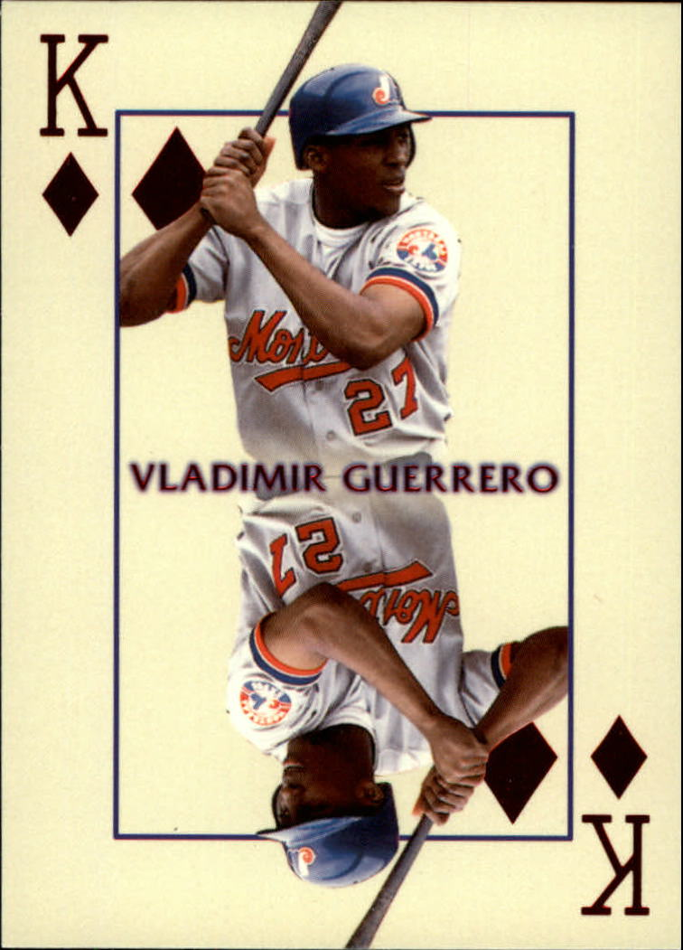 2000 Pacific Invincible Kings of the Diamond #18 Vladimir Guerrero