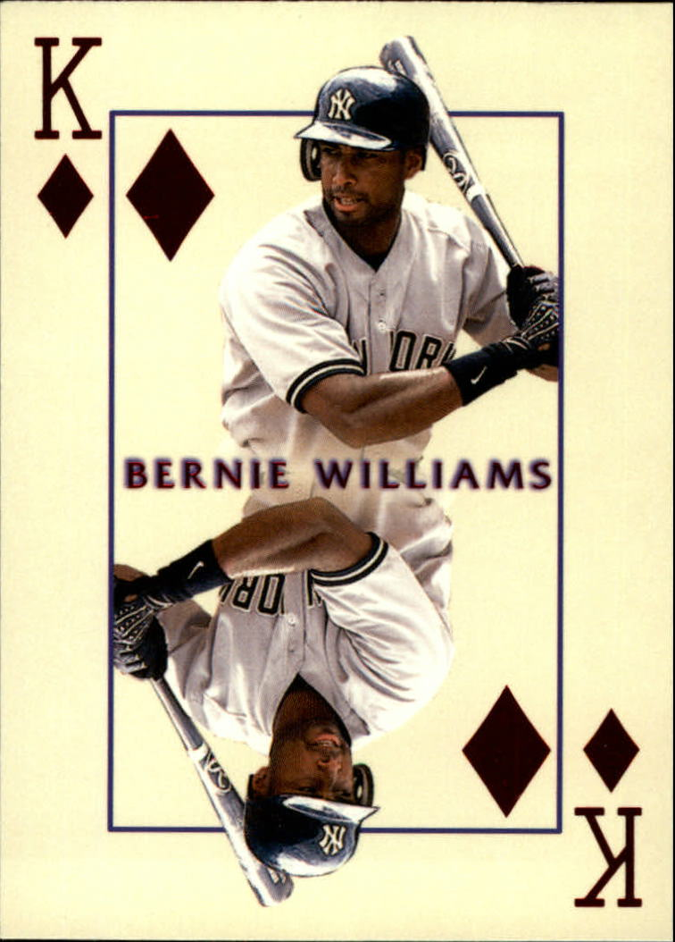 2000 Pacific Invincible Kings of the Diamond #21 Bernie Williams front image