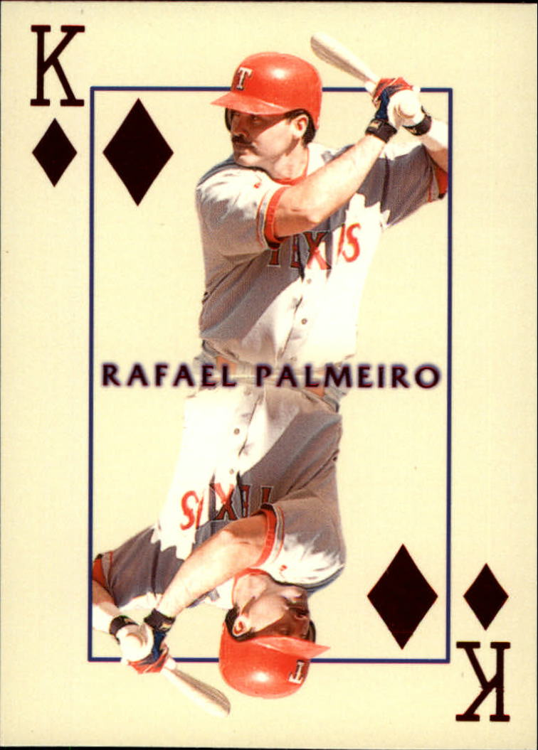 2000 Pacific Invincible Kings of the Diamond #29 Rafael Palmeiro front image
