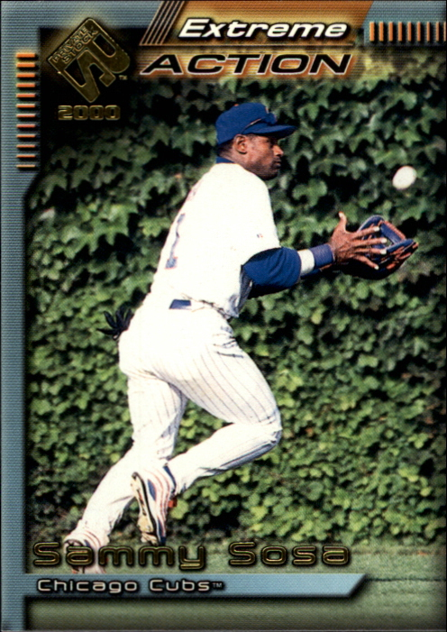 2000 Private Stock Extreme Action #5 Sammy Sosa