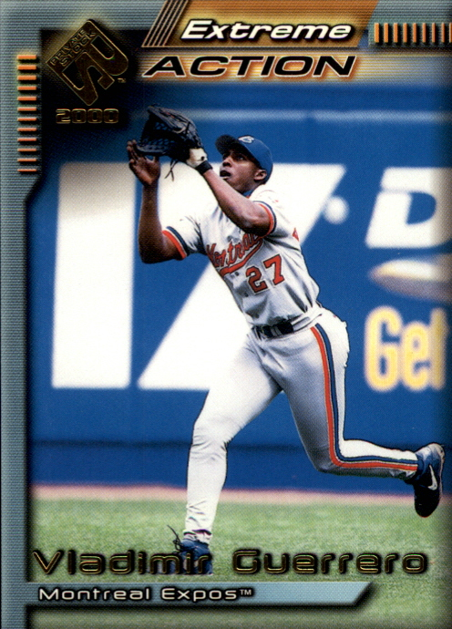2000 Private Stock Extreme Action #11 Vladimir Guerrero