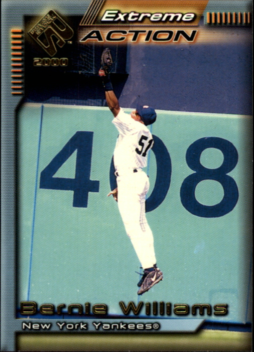 2000 Private Stock Extreme Action #14 Bernie Williams