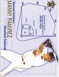 2000 Vanguard Diamond Architects #7 Manny Ramirez