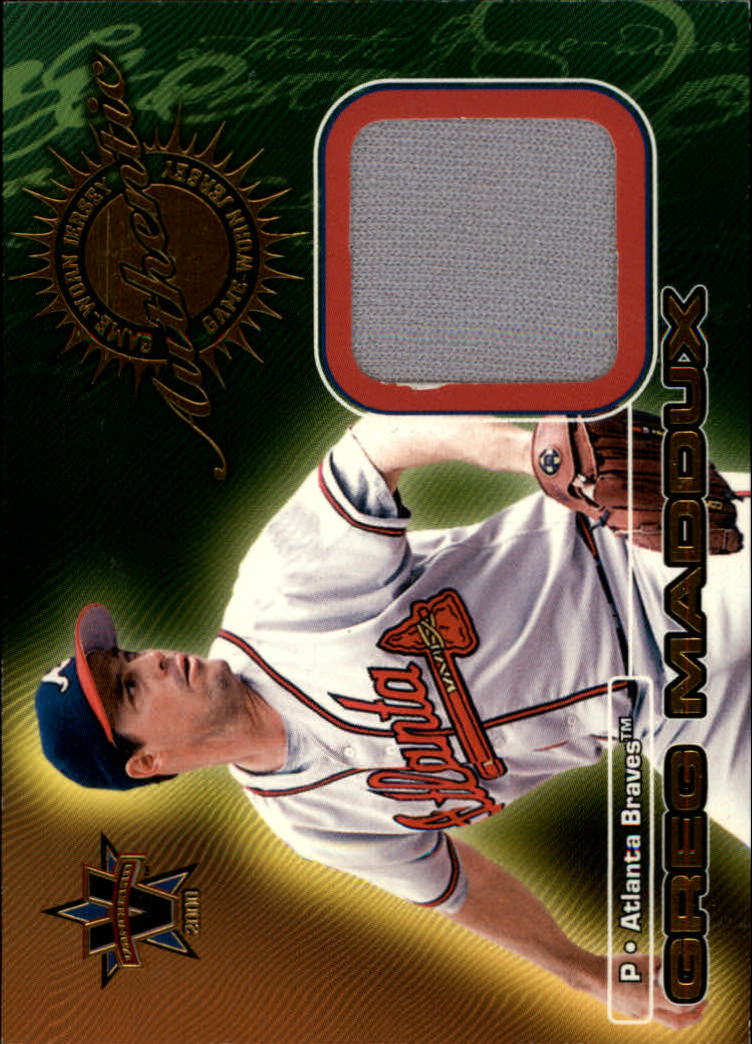2000 Vanguard Game-Worn Jerseys #2 Greg Maddux