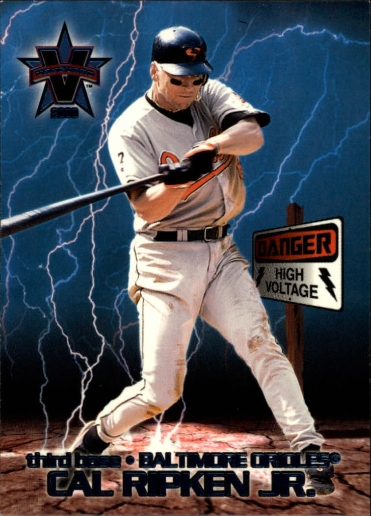 2000 Vanguard High Voltage #7 Cal Ripken