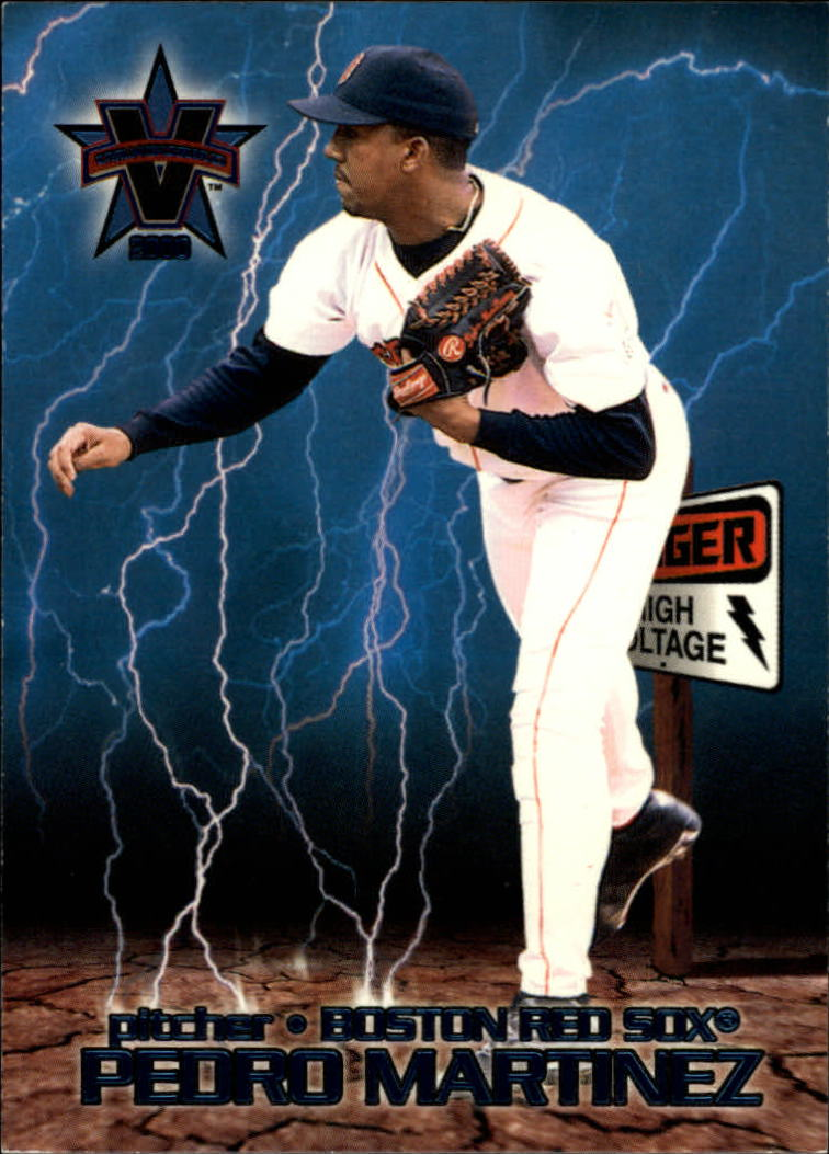 2000 Vanguard High Voltage #9 Pedro Martinez