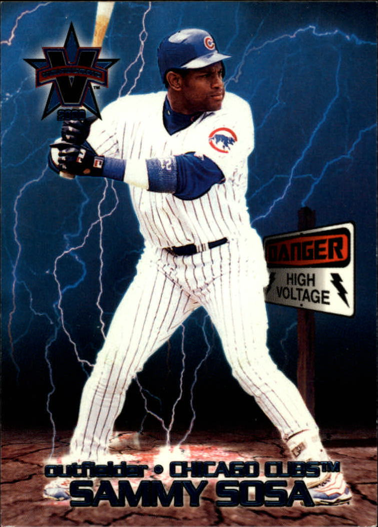2000 Vanguard High Voltage #10 Sammy Sosa