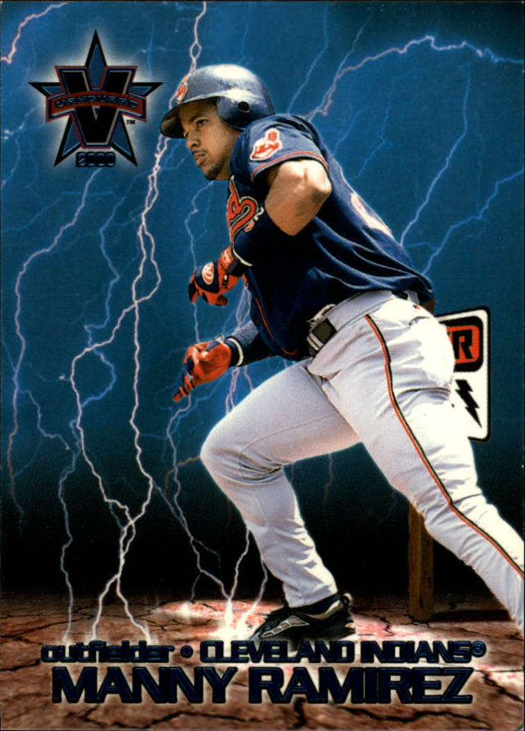 2000 Vanguard High Voltage #15 Manny Ramirez
