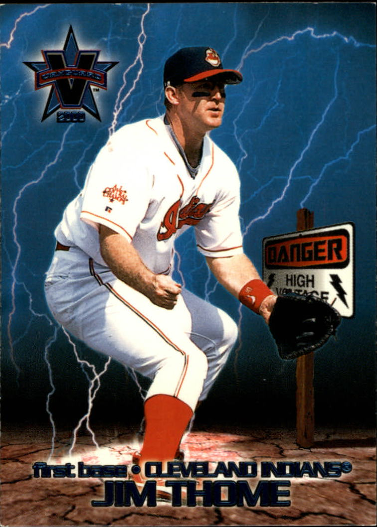 2000 Vanguard High Voltage #16 Jim Thome