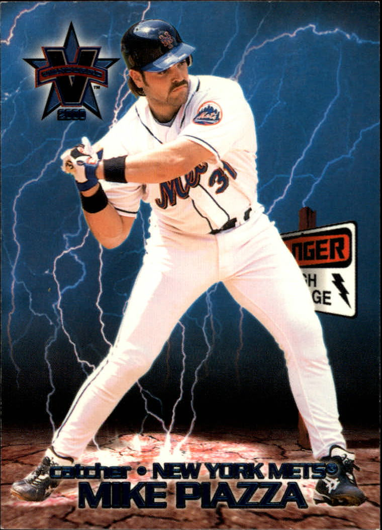 2000 Vanguard High Voltage #24 Mike Piazza