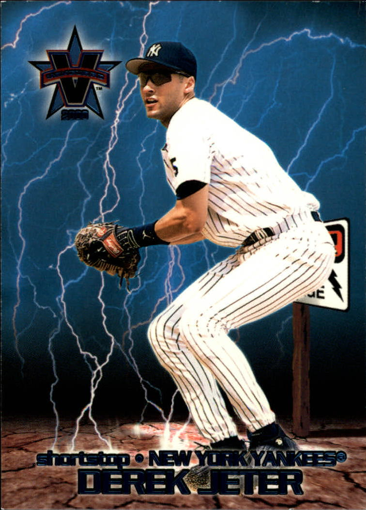 2000 Vanguard High Voltage #26 Derek Jeter
