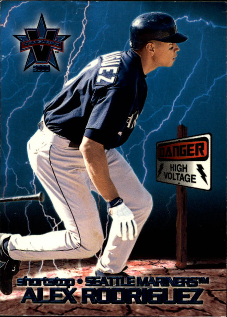 2000 Vanguard High Voltage #34 Alex Rodriguez
