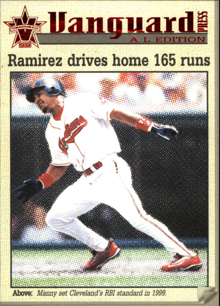 2000 Vanguard Press #A4 Manny Ramirez