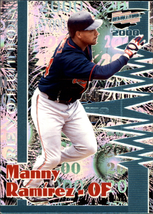 2000 Revolution Shadow Series #47 Manny Ramirez