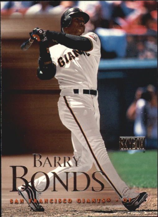 2000 SkyBox #49 Barry Bonds