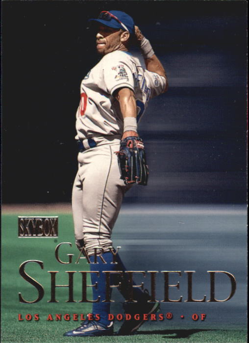 2000 SkyBox #116 Gary Sheffield