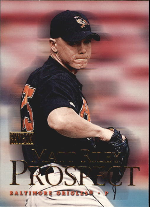 2000 SkyBox #204 Matt Riley