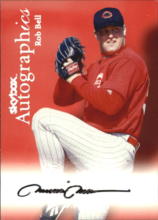 2000 SkyBox Autographics #9 Rob Bell
