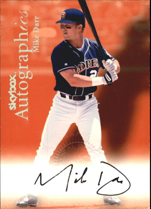 2000 SkyBox Autographics #31 Mike Darr