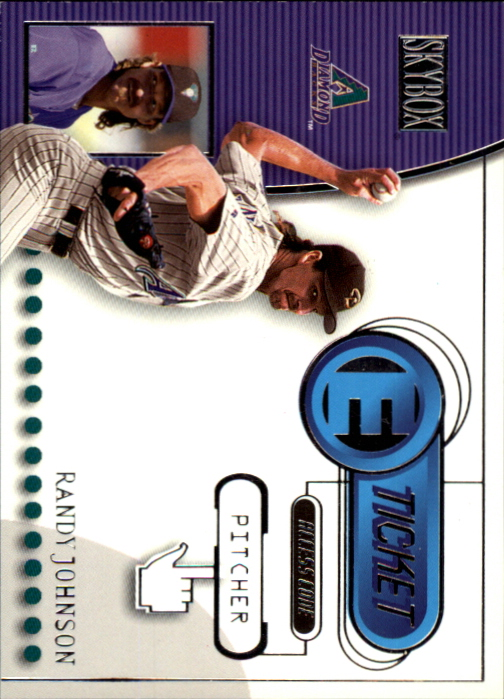 2000 SkyBox E-Ticket #ET15 Randy Johnson