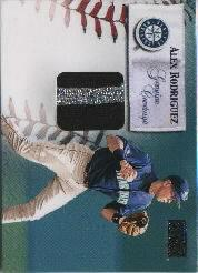 2000 SkyBox Genuine Coverage #6 Alex Rodriguez HR