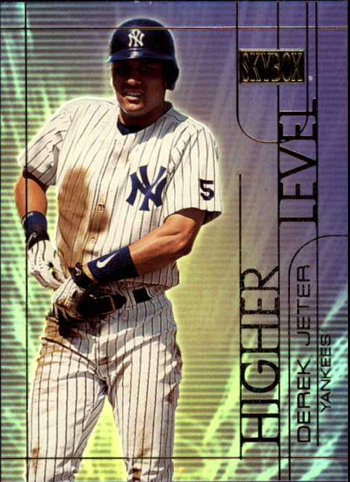 2000 SkyBox Higher Level #HL2 Derek Jeter