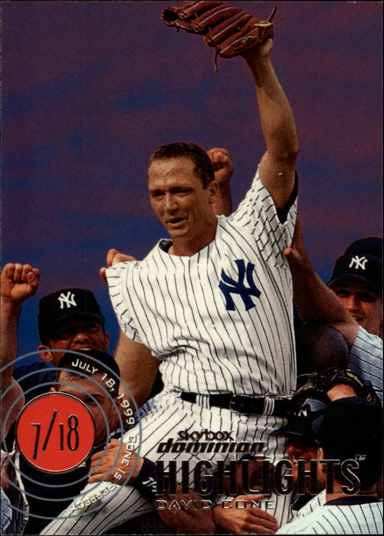 2000 SkyBox Dominion #16 David Cone HL