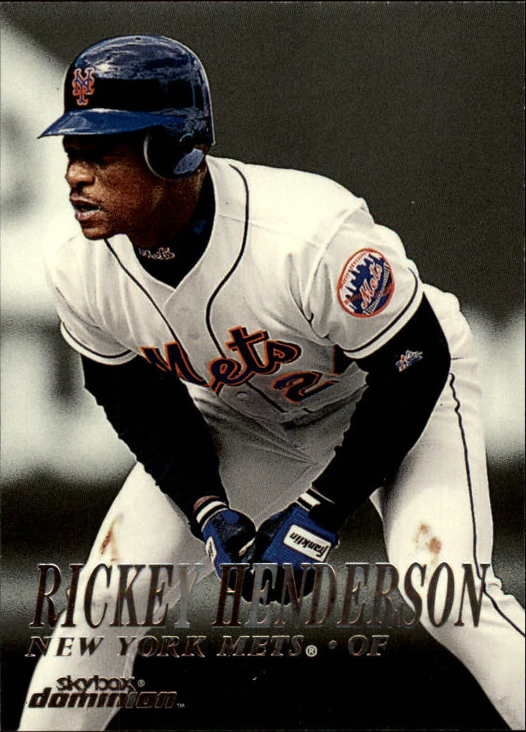 2000 SkyBox Dominion #40 Rickey Henderson