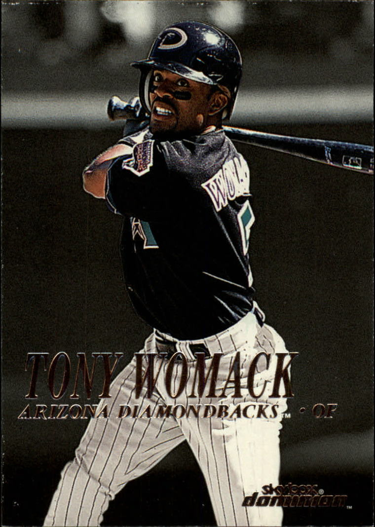 2000 SkyBox Dominion #44 Tony Womack