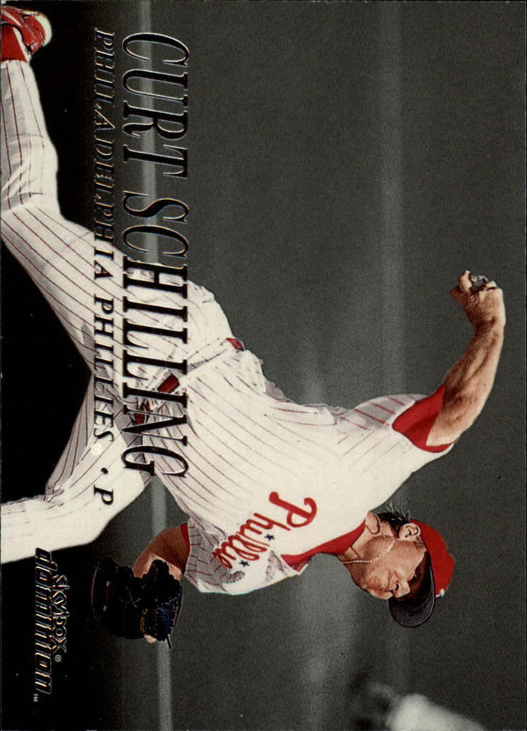 2000 SkyBox Dominion #58 Curt Schilling