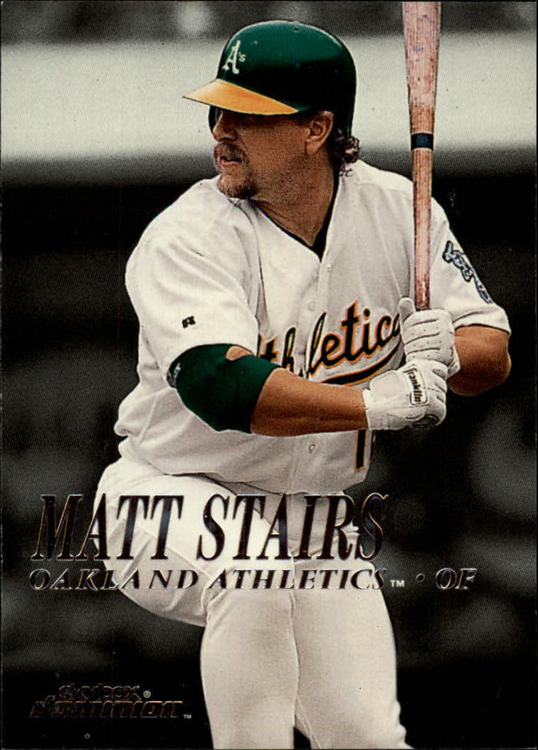 2000 SkyBox Dominion #77 Matt Stairs