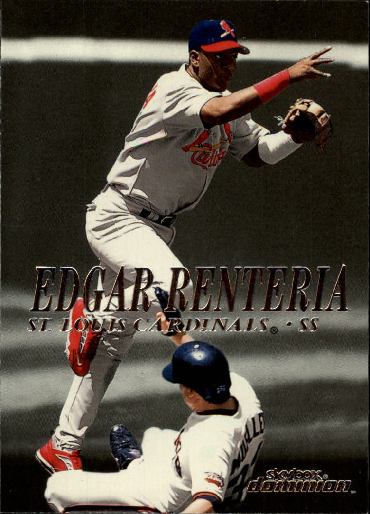 2000 SkyBox Dominion #88 Edgar Renteria