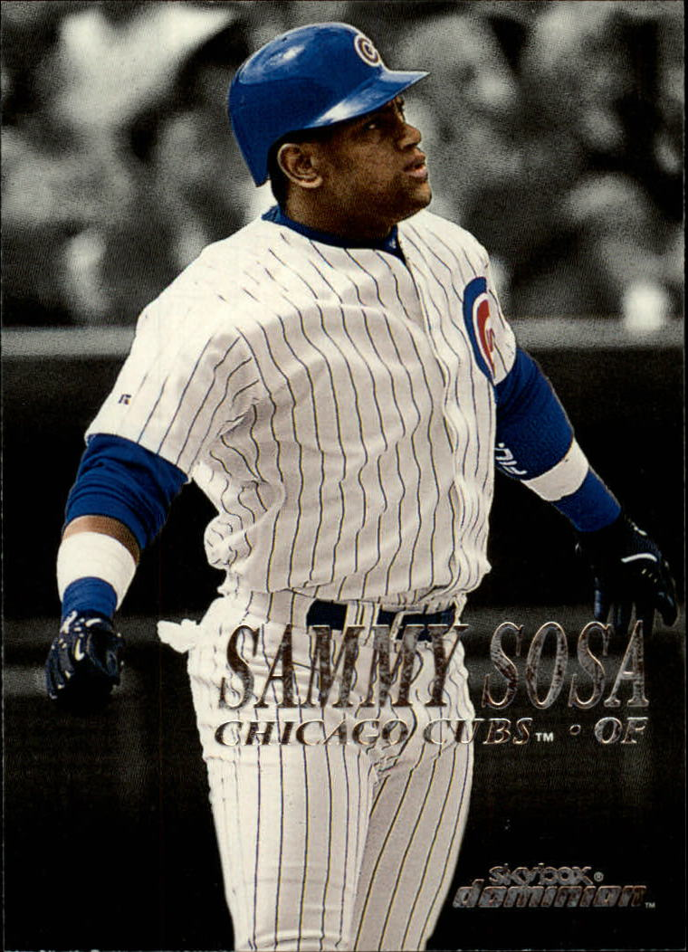 2000 SkyBox Dominion #99 Sammy Sosa