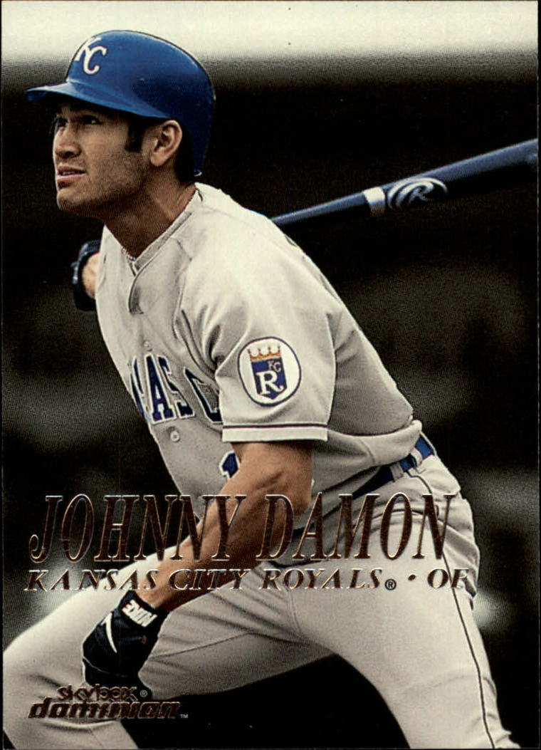 2000 SkyBox Dominion #205 Johnny Damon