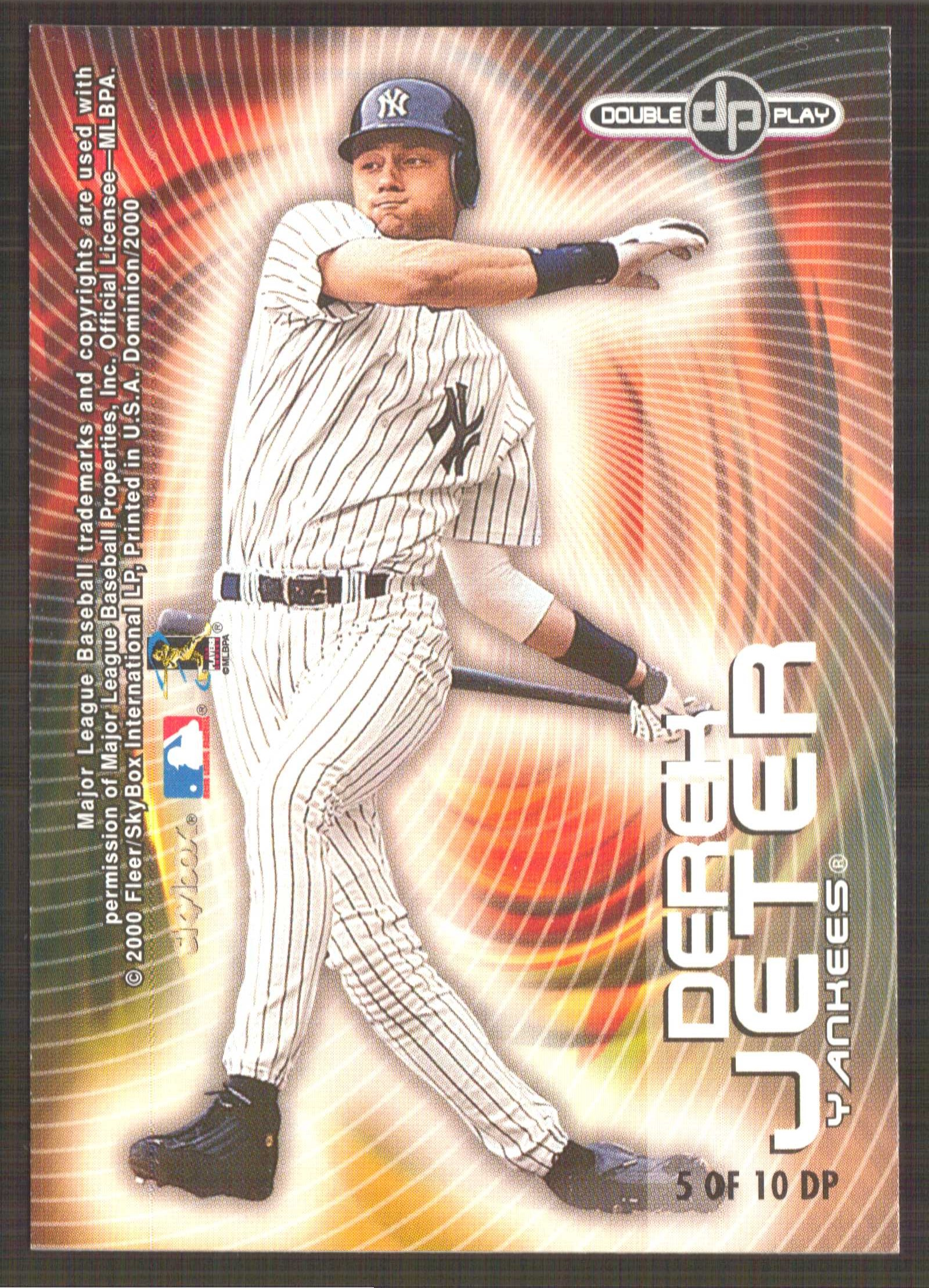 2000 SkyBox Dominion Double Play #DP5 C.Ripken/D.Jeter