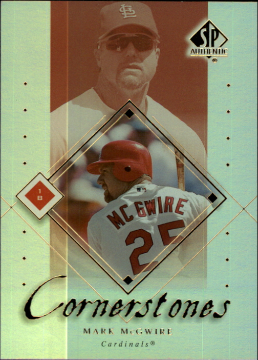 2000 SP Authentic Cornerstones #C5 Mark McGwire