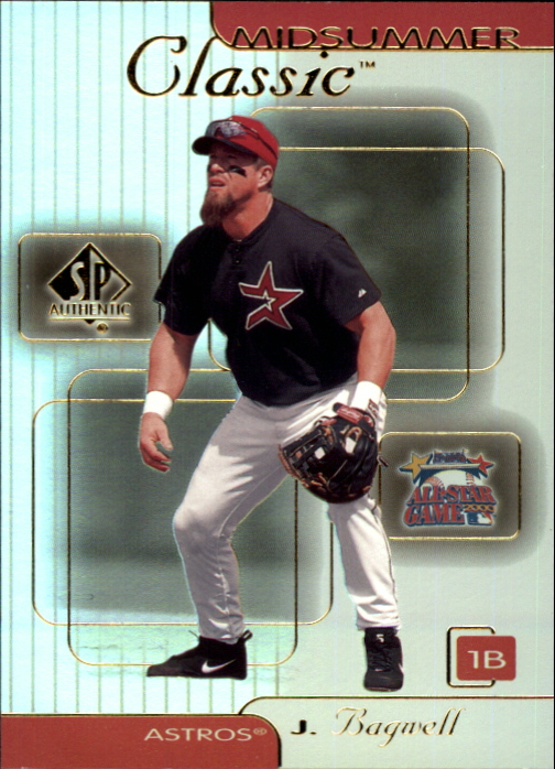 2000 SP Authentic Midsummer Classics #MC3 Jeff Bagwell