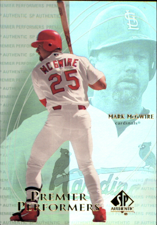 2000 SP Authentic Premier Performers #PP1 Mark McGwire