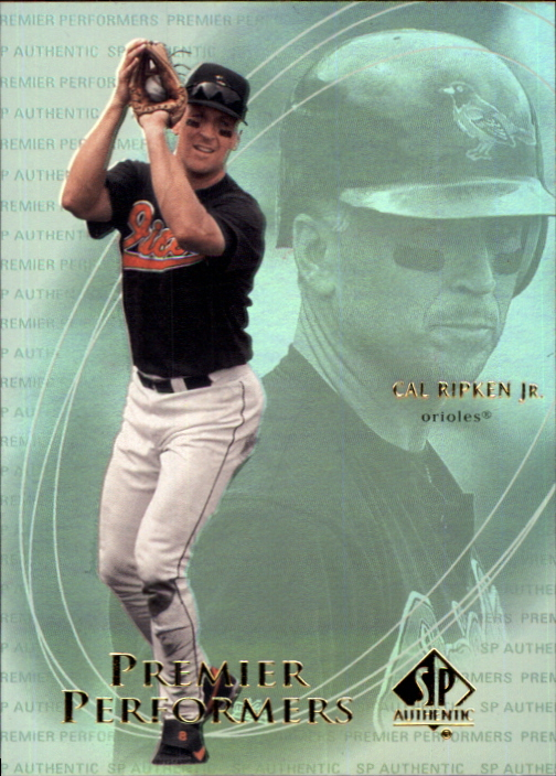 2000 SP Authentic Premier Performers #PP3 Cal Ripken
