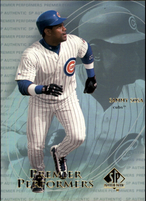 2000 SP Authentic Premier Performers #PP10 Sammy Sosa