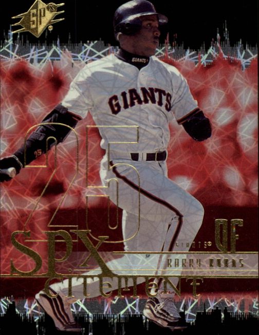 2000 SPx SPXcitement #XC5 Barry Bonds