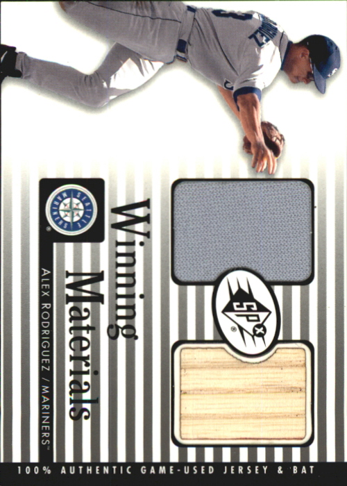 2000 SPx Winning Materials #AR1 A.Rodriguez Bat-Jsy
