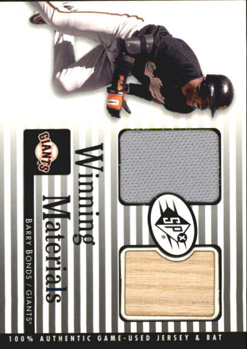 2000 SPx Winning Materials #BB1 B.Bonds Bat-Jsy
