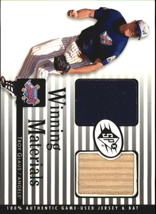 2000 SPx Winning Materials #GM G.Maddux Bat-Jsy