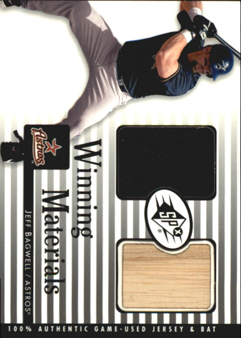 2000 SPx Winning Materials #JB1 J.Bagwell Bat-Jsy