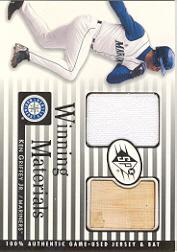 2000 SPx Winning Materials #KG1 K.Griffey Jr. Bat-Jsy