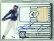 2000 SPx Winning Materials #KG3 K.Griffey Bat-Jsy AU/24