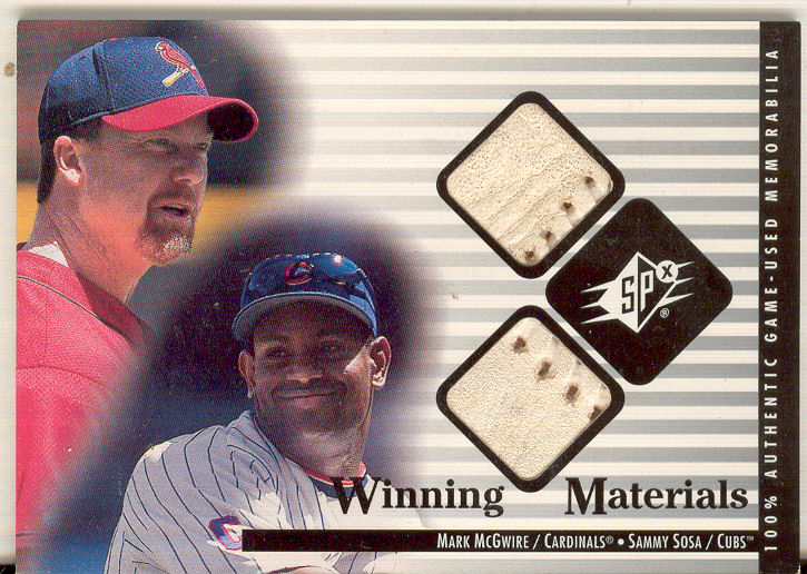 2000 SPx Winning Materials Update #MMSS M.McGwire/S.Sosa